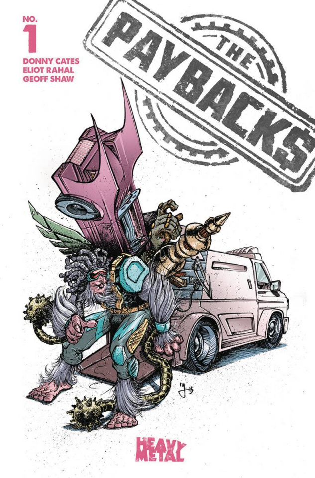 The Paybacks #1 (Lee Cover)
