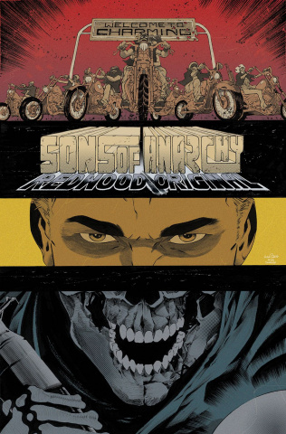 Sons of Anarchy: Redwood Original #4 (Subscription Pizzari Cover)