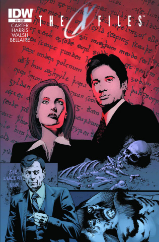 The X-Files, Season 10 #3 (Subscription Cover)