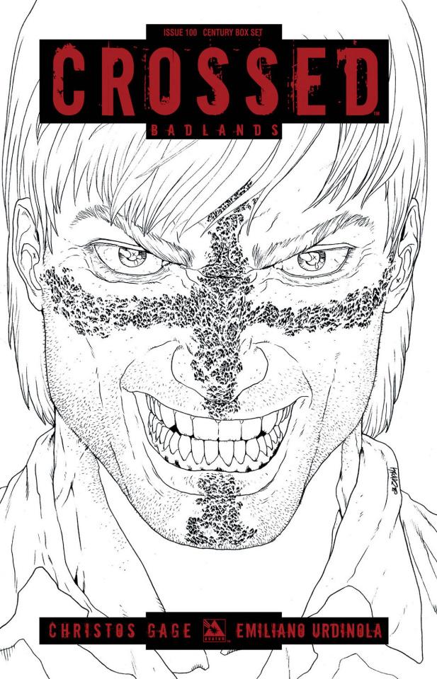 Crossed: Badlands #100 (Deluxe Collectors Box Set)