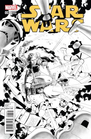 Star Wars #3 (Cassaday Sketch Cover)