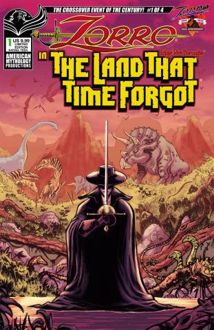 Zorro in the Land That Time Forgot #1 (Ranaldi Cover)