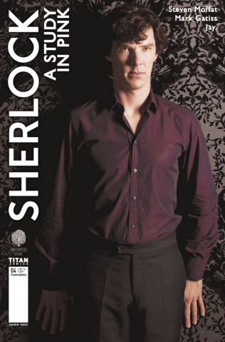 Sherlock: A Study in Pink #4 (Photo Cover)