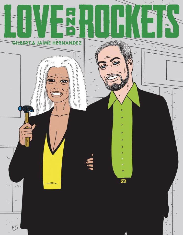 Love and Rockets Magazine #6