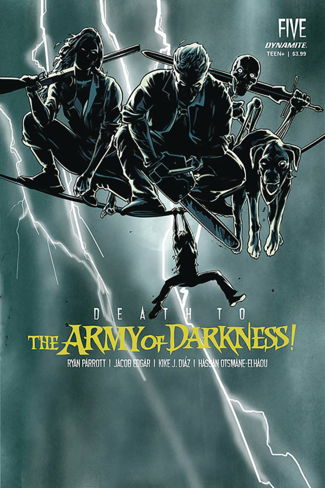 Death to the Army of Darkness #5 (Mooney Homage Cover)
