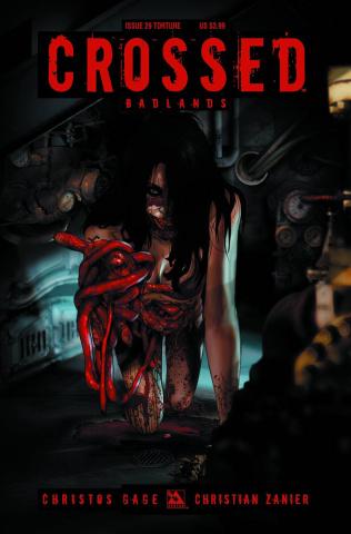 Crossed: Badlands #29 (Torture Cover)