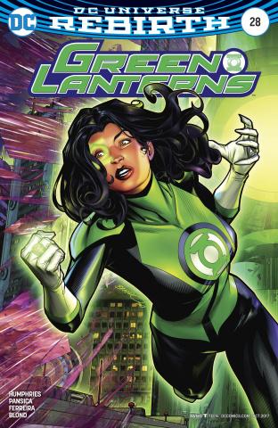 Green Lanterns #28 (Variant Cover)