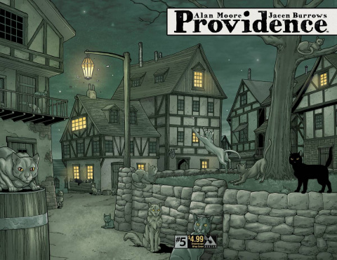 Providence #5 (Dreamscape Wrap Cover)