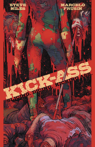 Kick-Ass #12 (Romita Jr. Cover)