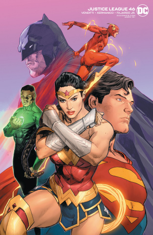 Justice League #46 (Clay Mann Cover)