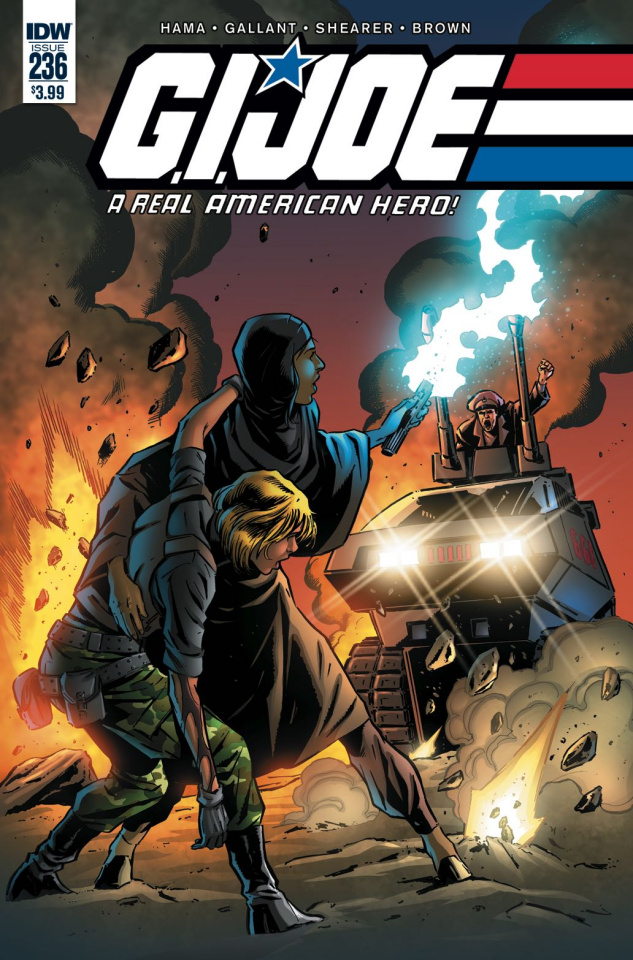 G.I. Joe: A Real American Hero #236