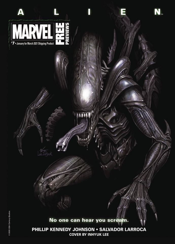 Marvel Previews #9: March 2021 Extras