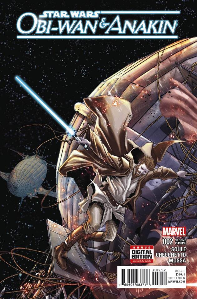 Obi-Wan & Anakin #2 (Checchetto 2nd Printing)