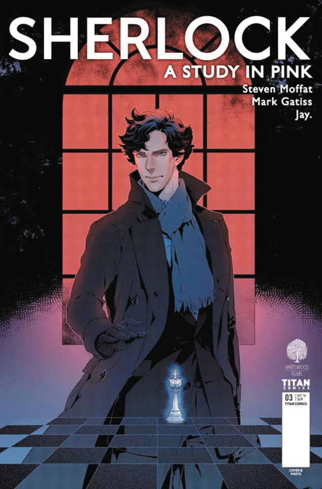 Sherlock: A Study in Pink #3 (Jay Cover)