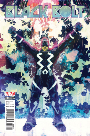 Black Bolt #1 (Pope Cover)