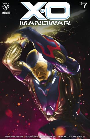 X-O Manowar #7 (Rahzzah Cover)