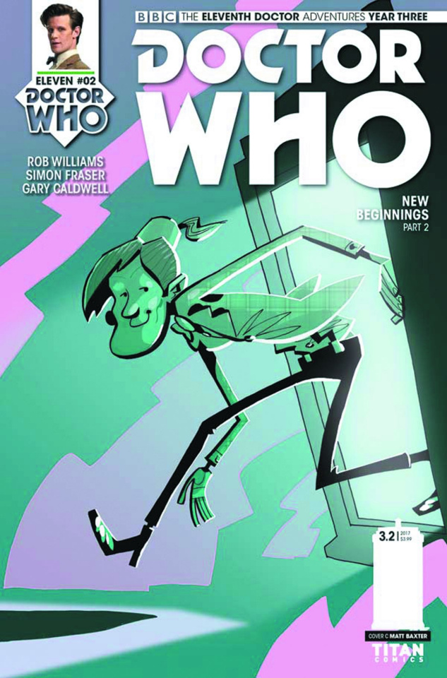 Doctor Who: New Adventures with the Eleventh Doctor, Year Three #2 (Baxter Cover)