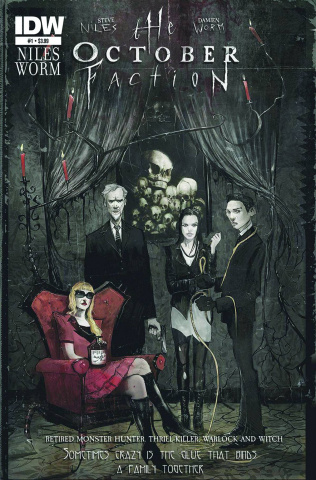 The October Faction #1 (2nd Printing)