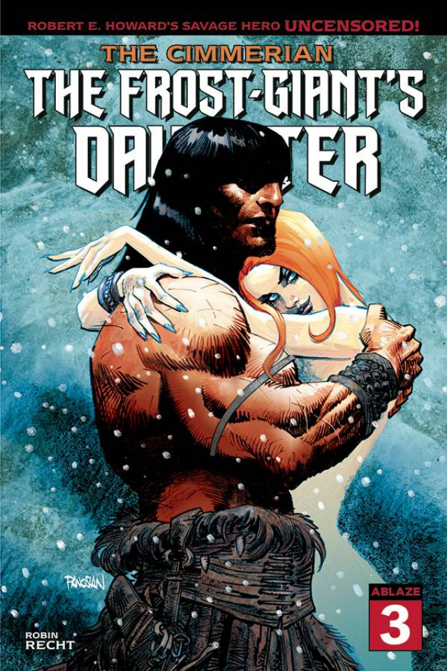 The Cimmerian: The Frost Giant's Daughter #3 (Dan Panosian Cover)