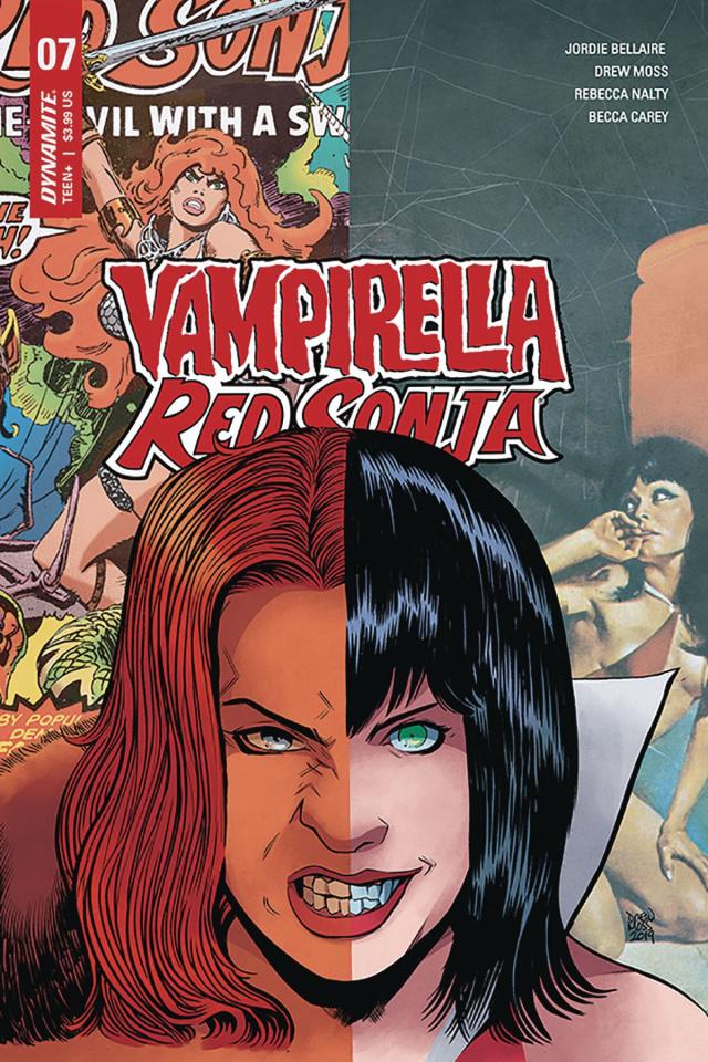 Vampirella / Red Sonja #7 (Moss Cover)