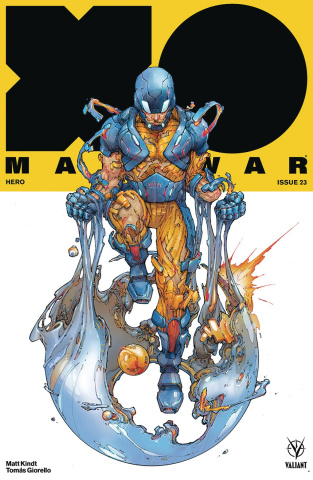 X-O Manowar #23 (Rocafort Cover)
