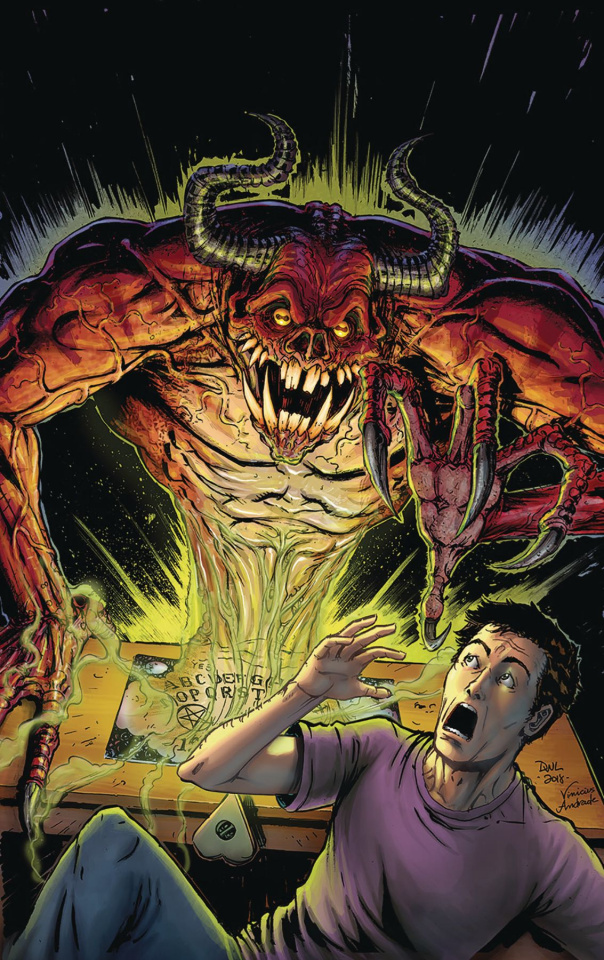 Grimm Tales of Terror #12 (Leister Cover)