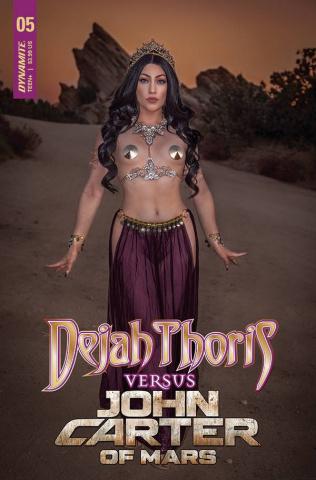 Dejah Thoris vs. John Carter of Mars #5 (Cosplay Cover)
