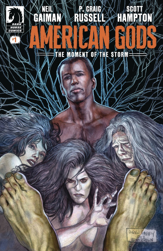 American Gods: The Moment of the Storm #1 (Fabry Cover)
