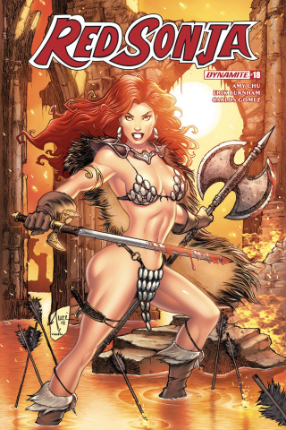 Red Sonja #18 (Tucci Cover)