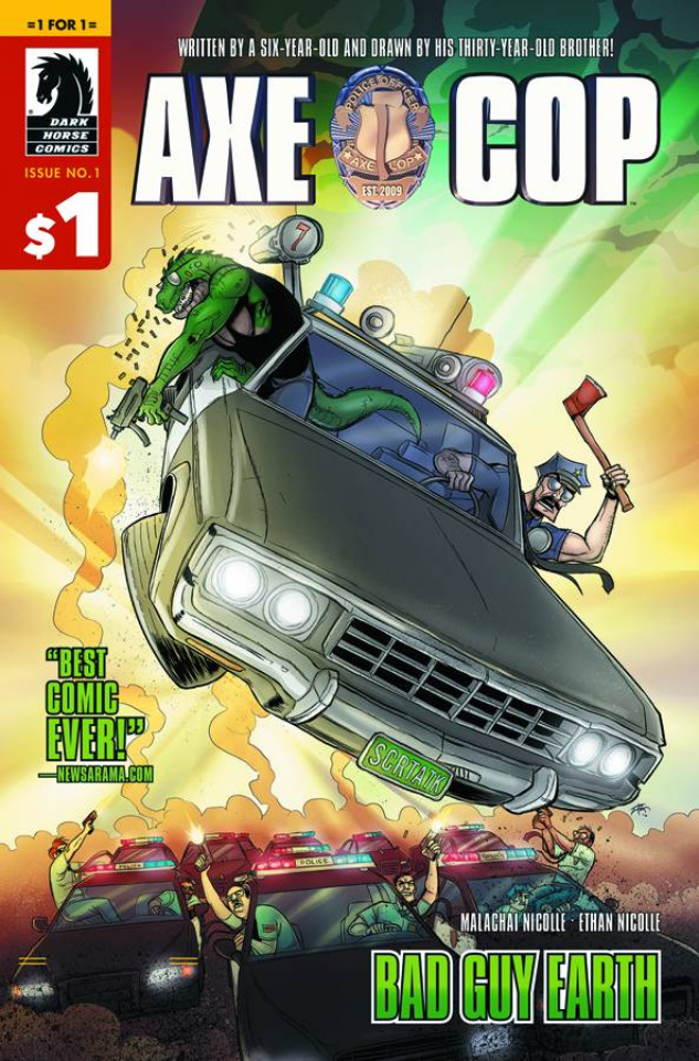 Axe Cop: Bad Guy Earth #1 (1 For $1)