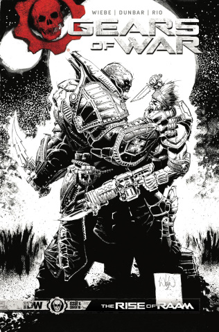 Gears of War: The Rise of RAAM #4 (10 Copy Cover)