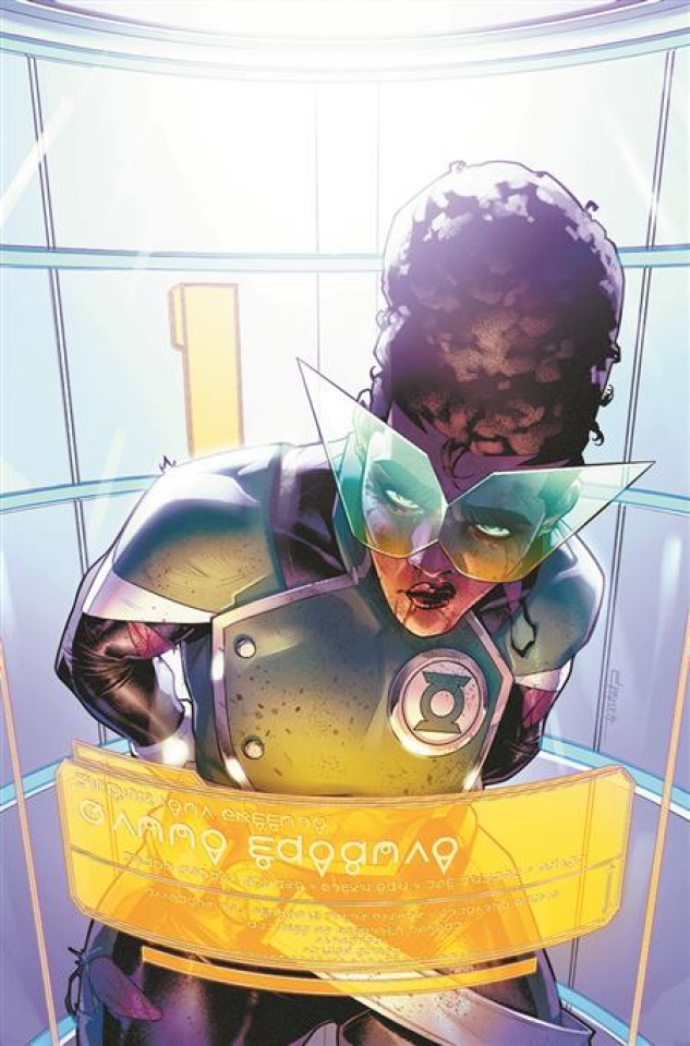 The Far Sector #10 (Jamal Campbell Cover)