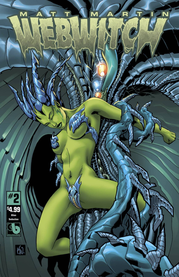 Webwitch #2 (Alien Seduction Cover)