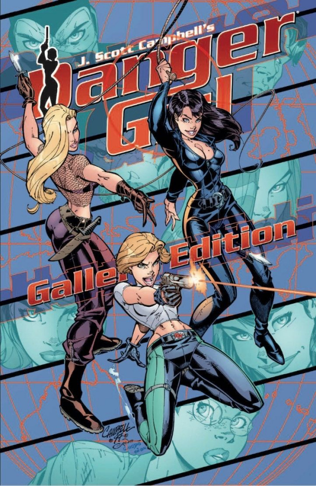 Danger Girl Gallery Edition (Prestige Format)