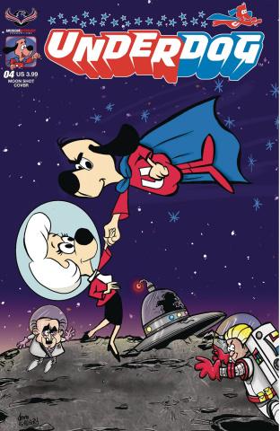 Underdog #4 (Moon Shot Cover)