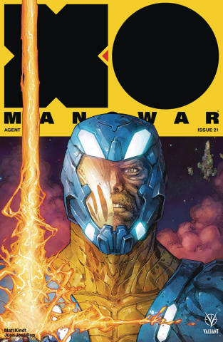 X-O Manowar #21 (Rocafort Cover)