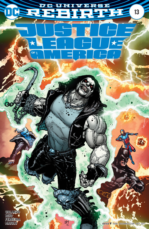 Justice League of America #13 (Variant Cover)