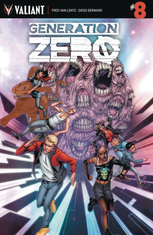 Generation Zero #8 (Evans Cover)