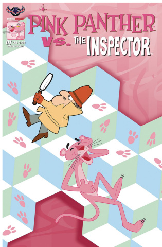 Pink Panther vs. The Inspector #1 (Which Way Cover)