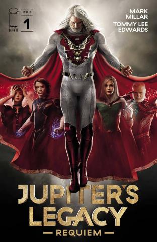 Jupiter's Legacy: Requiem #1 (Netflix Season 1 Cover)