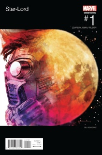 Star-Lord #1 (Sienkiewicz Hip Hop Cover)