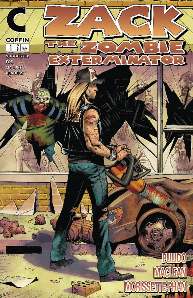 Zack: The Zombie Exterminator #1 (Chainsaw Edition)