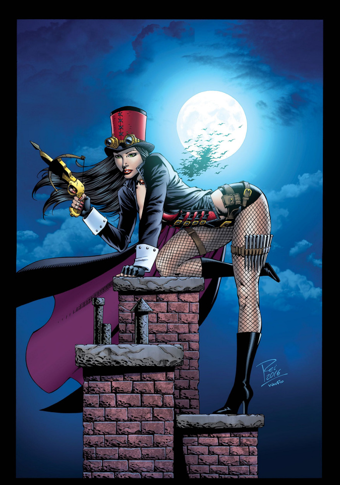 Grimm Fairy Tales: Van Helsing vs. Frankenstein #5 (Rei Cover)