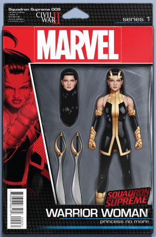 Squadron Supreme #9 (Christopher Action Figure Cover)