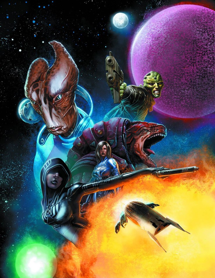 Mass Effect Vol. 2 (Library Edition)