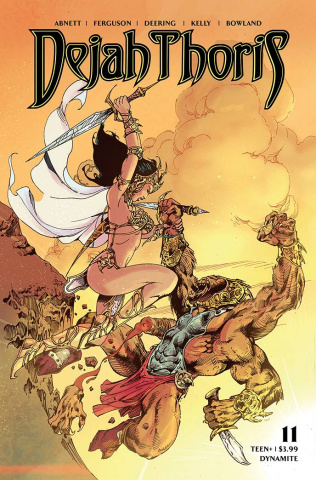 Dejah Thoris #11 (Castro Bonus Cover)