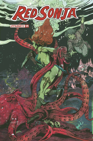 Red Sonja #21 (Castro Bonus Cover)