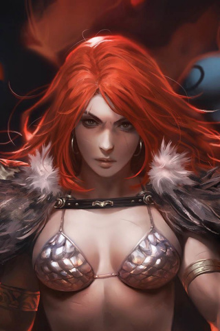 Red Sonja: Age of Chaos #1 (11 Copy Chew Sneak Peek Cover)