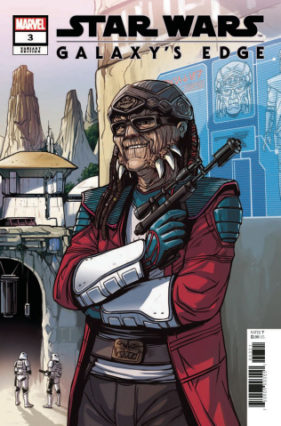 Star Wars: Galaxy's Edge #3 (Wijngaard Cover)