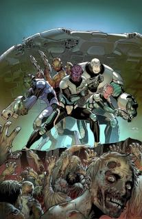 Aliens vs. Zombies #1 (Chen Cover)